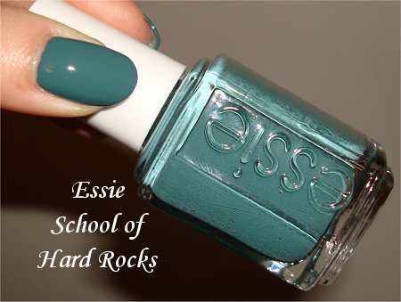 Essie Winter 2011 Collection School of Hard Rocks Essie Swatch & Review