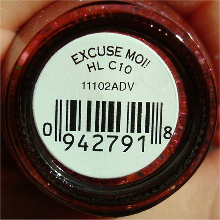 Excuse Moi OPI Swatch & Review