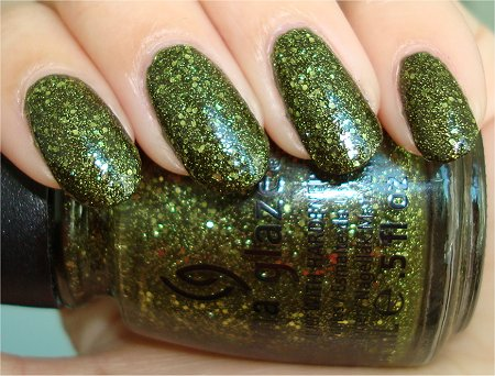Flash China Glaze 2011 Haunting Collection Swatches & Review It's Alive