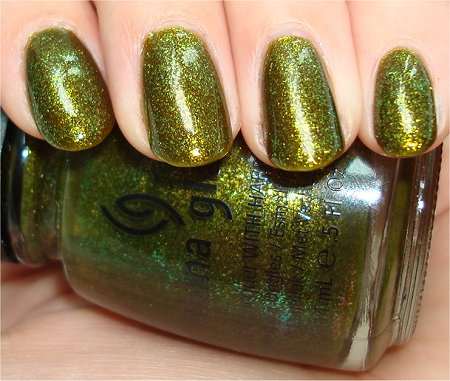 Flash China Glaze Zombie Zest Swatches & Review