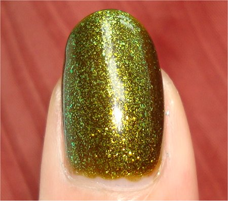 Flash China Glaze Zombie Zest from the Awakening 2010 Collection Swatches & Review