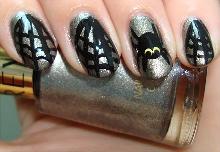 Flash Halloween Nail Art Tutorial Spider Nails