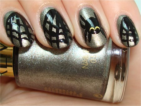 Flash Halloween Nails Spiderweb Nail Art Tutorial