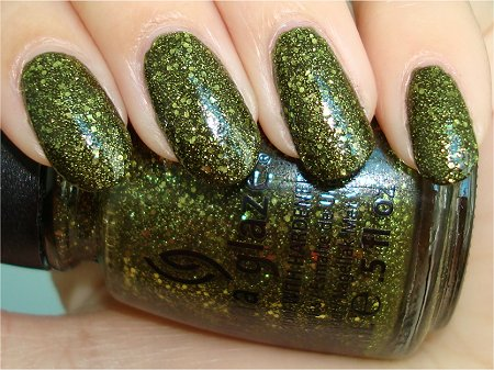 Flash Its Alive China Glaze Haunting Collection Swatch, Review & Pictures