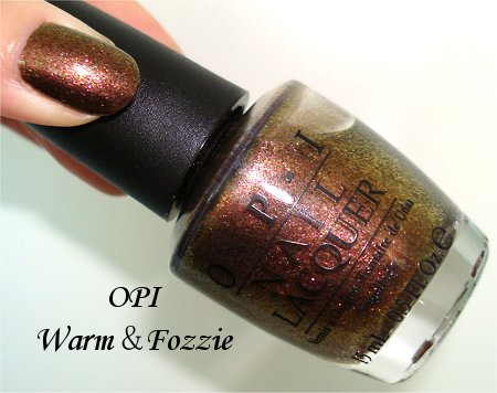 Flash OPI Warm & Fozzie Bottle Picture