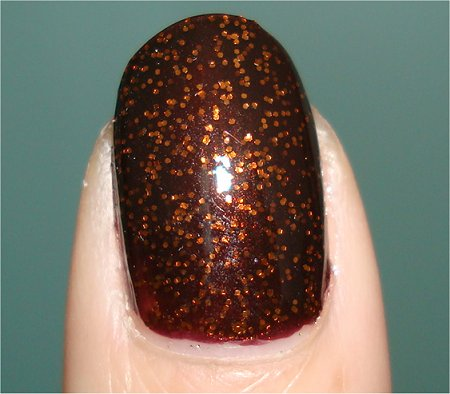 Flash Pumpkin Spice by Sally Hansen Swatch & Review