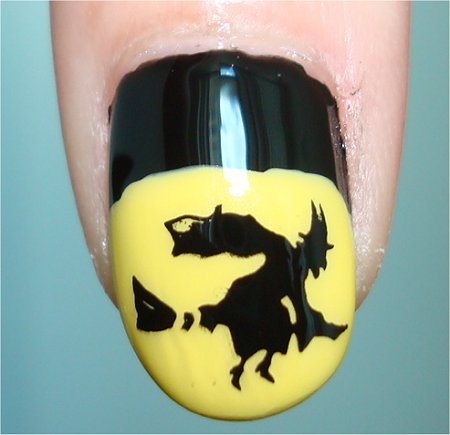 Flash Witchy Nail Art Halloween Tutorial