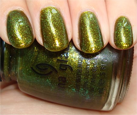 Flash Zombie Zest by China Glaze Awakening 2010 Collection Swatches & Review