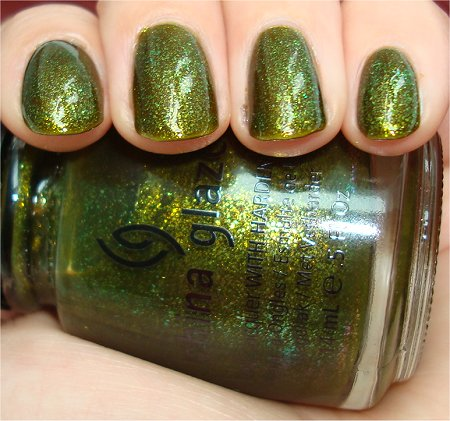 Flash Zombie Zest by China Glaze Swatch & Review
