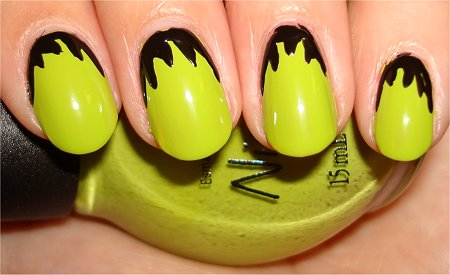 Frankenstein Nails Step 2