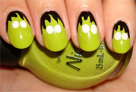 Frankenstein Nails Step 3
