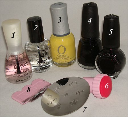 Halloween Nails Witch Nail Art Supplies