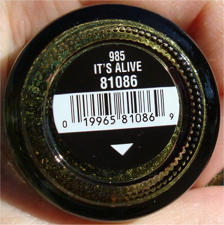 It's Alive by China Glaze Haunting Collection Bottle Picture