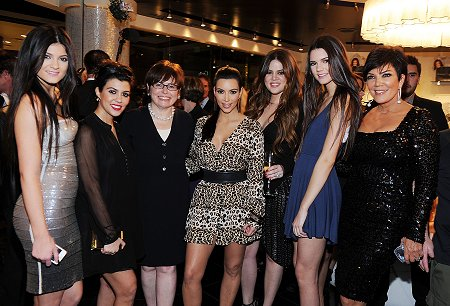 Kardashian Jenner Family with Suzi OPI
