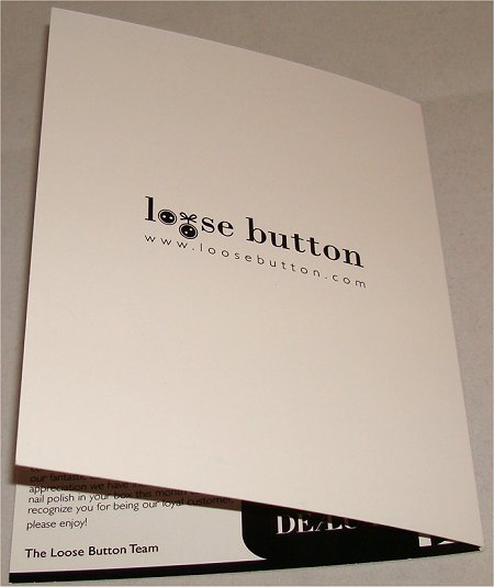 Loose Button Luxe Box October Review & Pictures
