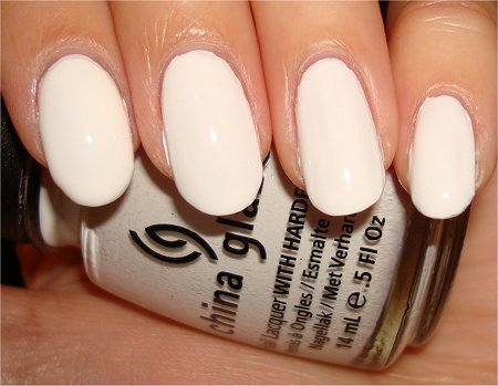 Mummy Nail Art Tutorial Step 1 Mummy Nail Art China Glaze Snow Swatch