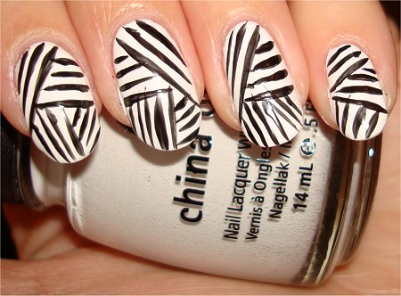 Mummy Nail Art Tutorial Step 2