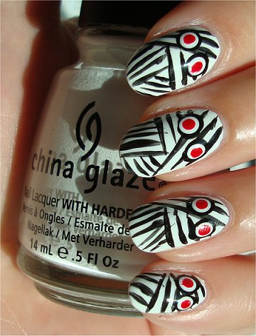 Mummy Nails Nail Art Tutorial & Swatches