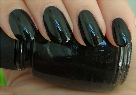 Natural Light China Glaze Liquid Leather Swatch & Review