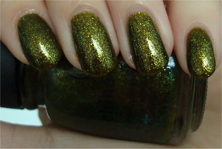 Natural Light China Glaze Zombie Zest Review & Photographs