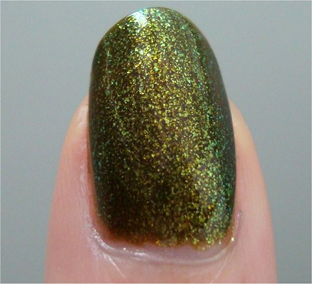 Natural Light China Glaze Zombie Zest Review & Photos