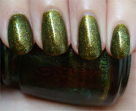 Natural Light China Glaze Zombie Zest Review & Pictures