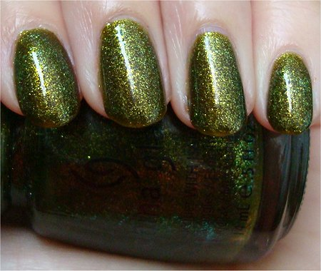 Natural Light China Glaze Zombie Zest Review & Swatch