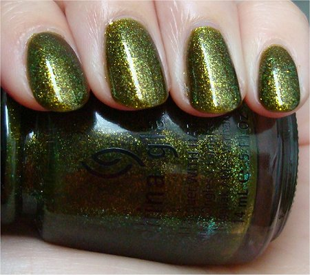 Natural Light China Glaze Zombie Zest Review & Swatches