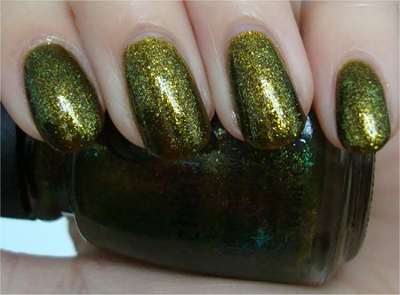 Natural Light China Glaze Zombie Zest from the Awakening 2010 Collection