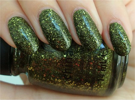 Natural Light Its Alive China Glaze Halloween 2011 Collection Swatches & Review