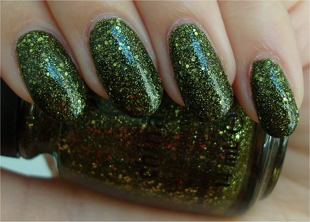 Natural Light Its Alive China Glaze Haunting Collection 2011 Swatches & Review