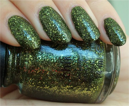 Natural Light It's Alive China Glaze Review & Swatches