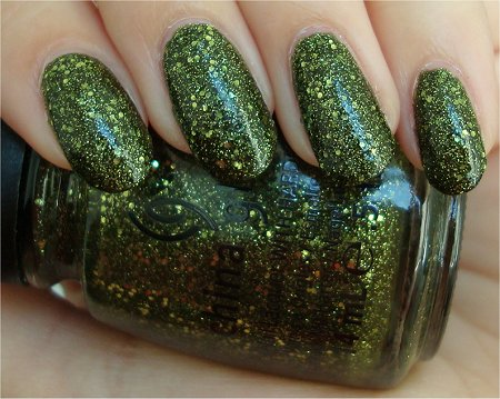 Natural Light It's Alive China Glaze Swatches & Review
