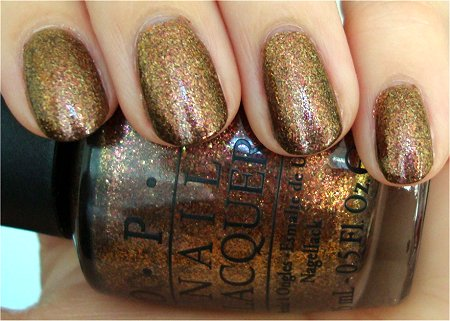 Natural Light OPI The Muppets Holiday 2011 Collection Swatches & Review OPI Warm & Fozzie Review & Swatch