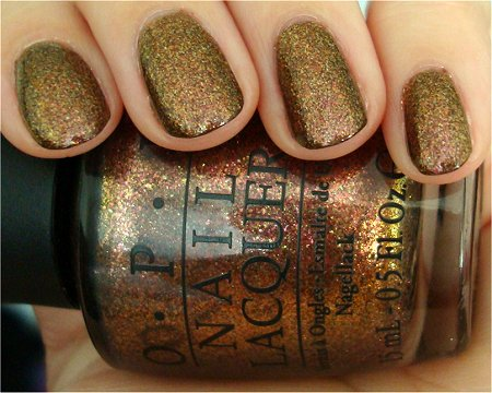 Natural Light OPI Warm & Fozzie The Muppets Collection 2011 Swatches & Review