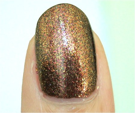 Natural Light OPI Warm & Fozzie from the OPI Muppets Holiday 2011 Collection