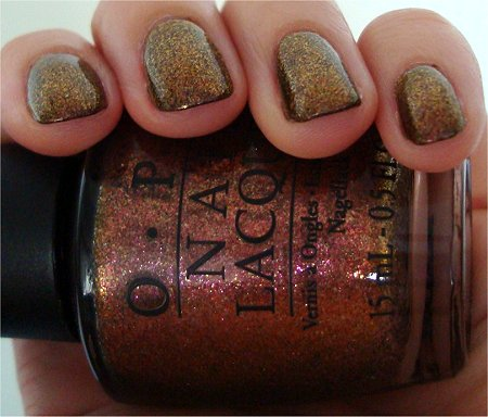 Natural Light OPI Warm and Fozzy Swatch & Review