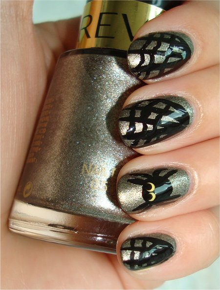Spider & Cobweb Nails Nail Art Tutorial & Swatches