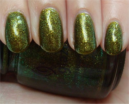 Natural Light Zombie Zest China Glaze Awakening Collection Review & Swatches
