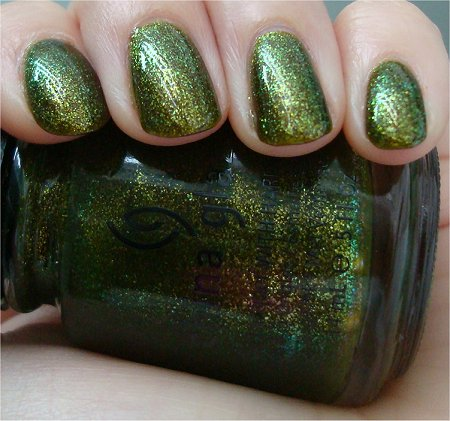 Natural Light Zombie Zest China Glaze Awakening Collection Swatches & Review