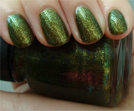 Natural Light Zombie Zest China Glaze Swatches & Review
