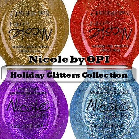 Nicole by OPI Holiday Glitters Collection 2011