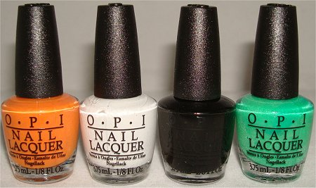 OPI Halloween Kit Spookettes Review & Swatches