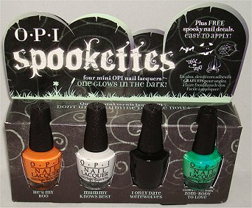 OPI Spookettes Review & Swatches