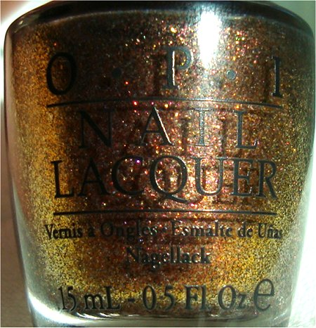 OPI Warm & Fozzie OPI The Muppets Collection 2011