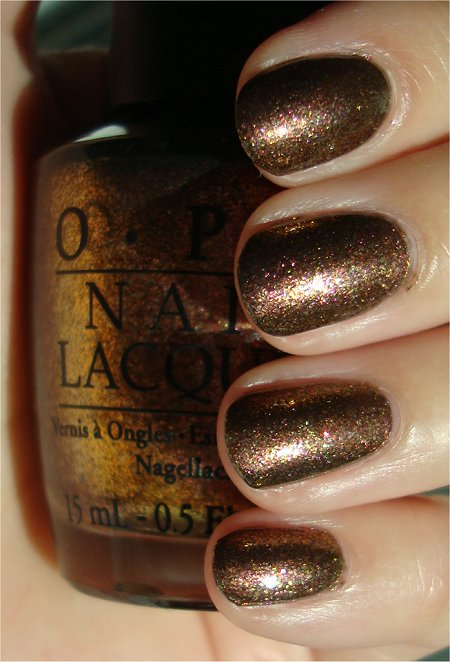 OPI Warm & Fozzie Swatches & Review