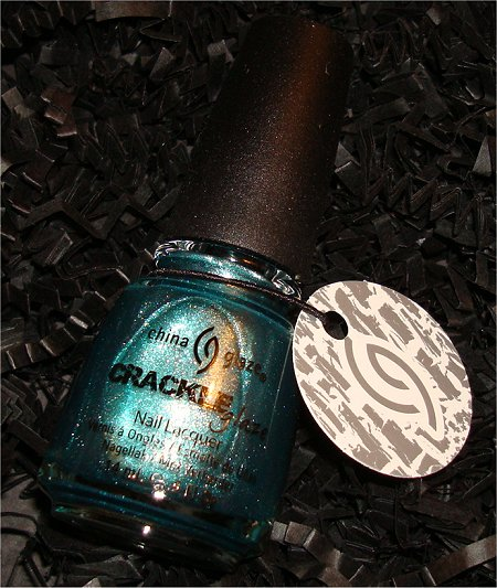 October Loose Button Luxe Box China Glaze Crackle Nail Polish