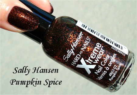 Sally Hansen Pumpkin Spice Bottle Picture