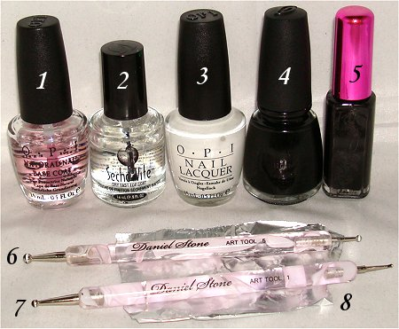 Skull Nails Nail Art How to