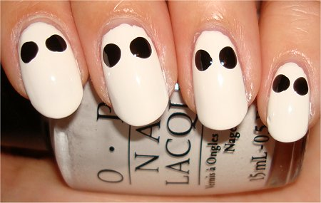 Skull Nails Nail Art Tutorial Step 2